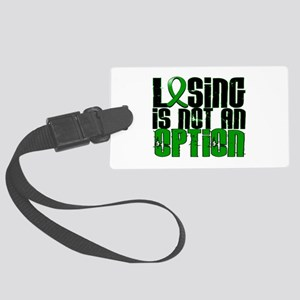 Losing Is Not an Option Adrenal Large Luggage Tag