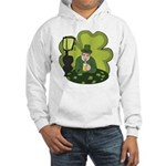 St Patricks Day Man with Beer Hoodie