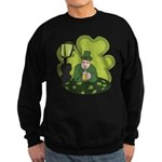 St Patricks Day Man with Beer Sweatshirt