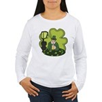 St Patricks Day Man with Beer Long Sleeve T-Shirt