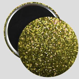Gold Mosaic Sparkley 1 Magnet