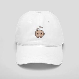Cute Pink Pig Oink Baseball Cap