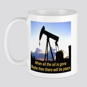 Oil and Peace Mug
