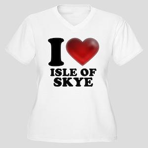 I Heart Isle of Skye Plus Size T-Shirt