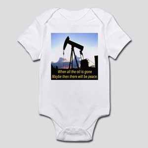 Oil and Peace Infant Bodysuit