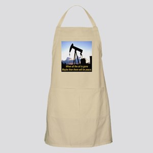 Oil and Peace BBQ Apron