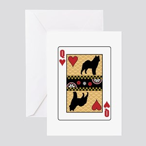 Queen Lapphund Greeting Cards (Pk of 10)