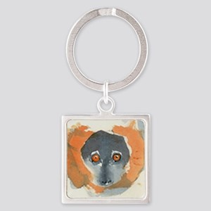 Red Ruffed Lemur Keychains