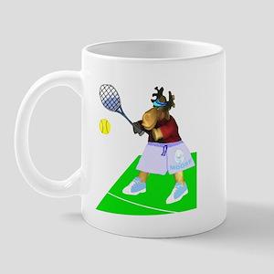 Tennis Moose Mug