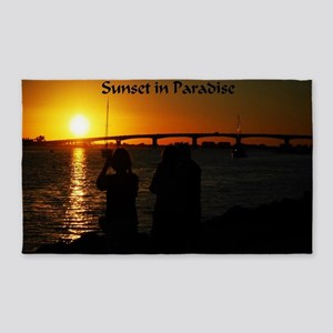 Sunset in Paradise 3'x5' Area Rug