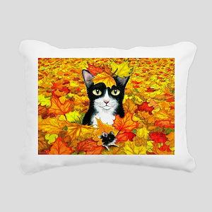 Cat 447 Rectangular Canvas Pillow