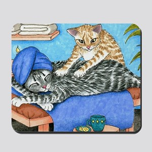 Cat 456 Mousepad