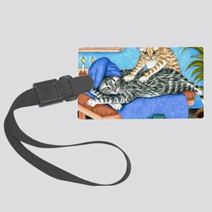 Cat 456 Large Luggage Tag