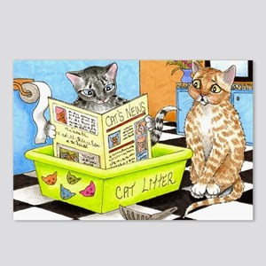 Cat 464 Postcards (Package of 8)