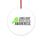 Limelight Mental Health Awareness Ornament (round)