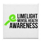 Limelight Mental Health Awareness Tile Coaster