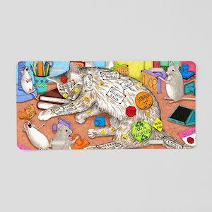 cat 468 Aluminum License Plate
