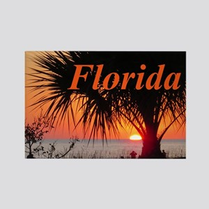 Florida Sunset Rectangle Magnet