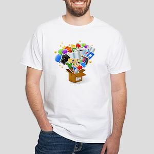 Junk Box White T-Shirt