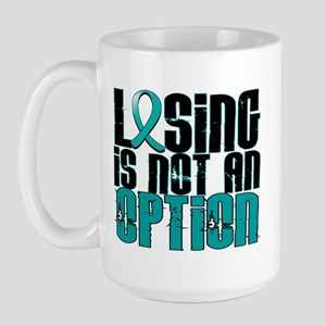 Losing Is Not an Option IC Large Mug