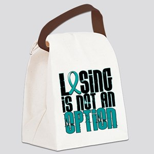 Losing Is Not an Option IC Canvas Lunch Bag