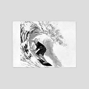 Surf (Light) 5'x7'Area Rug