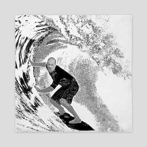 Surf (Light) Queen Duvet