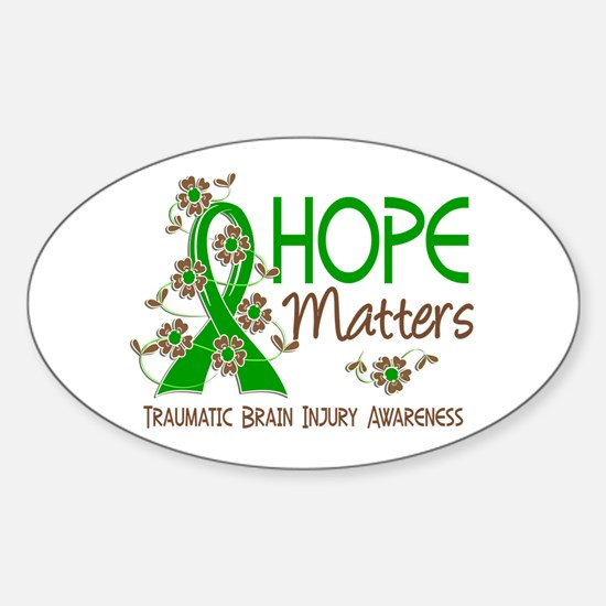 Hope Matters 3 IC Sticker (Oval)