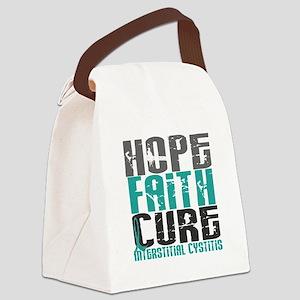 Hope Faith Cure IC Canvas Lunch Bag