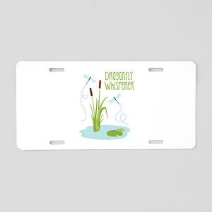 Dragonfly Whisperer Aluminum License Plate
