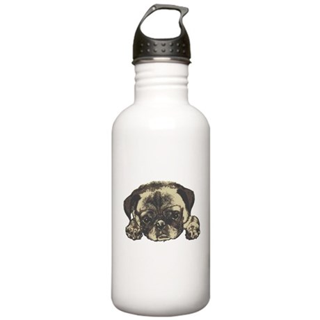 Pug Cutie Stainless Water Bottle 1.0L