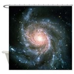 Pinwheel Galaxy Shower Curtain