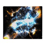NGC 5189: Skull In The Sky Throw Blanket