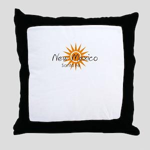 santa fe new mexico Throw Pillow
