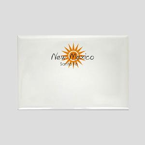 santa fe new mexico Magnets