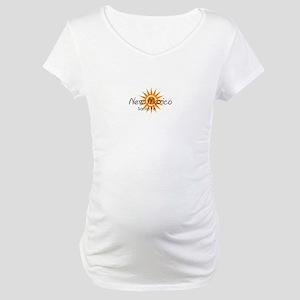 santa fe new mexico Maternity T-Shirt