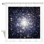 Messier 69 Star Cluster Shower Curtain