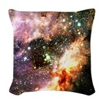 Messier 17 Woven Throw Pillow