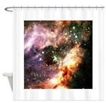 Messier 17 Shower Curtain