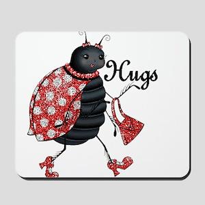 Ladybug Hugs Mousepad