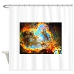 Heart and Soul Nebula Shower Curtain