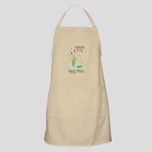 Welcome to my Happy Place Apron