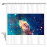 Carina Nebula [Up Close] Shower Curtain