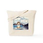Abrahamster in Alaska Tote Bag