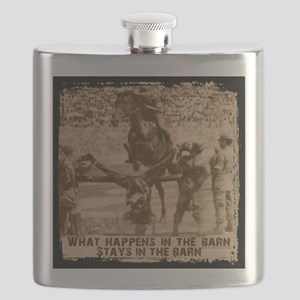 what happens in the barn Flask