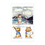 "Abrahamster in Alaska Rectangle Sticker3x5"""