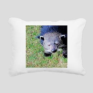 Hi There Rectangular Canvas Pillow
