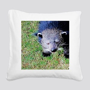 Hi There Square Canvas Pillow