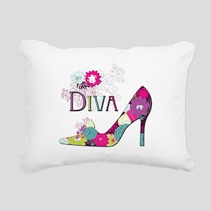 Shoe Diva Rectangular Canvas Pillow