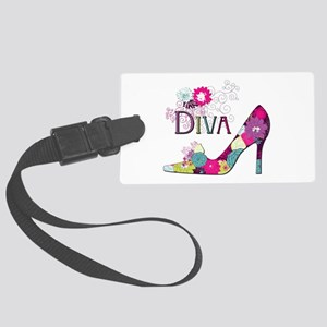Shoe Diva Luggage Tag